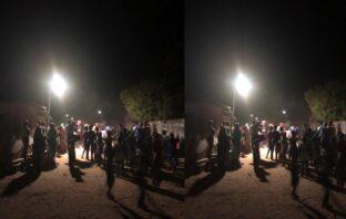 Brufut Sanchaba inaugurates new street lights worth over D188,000
