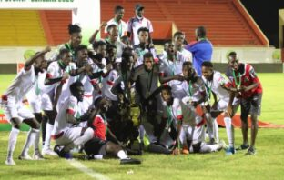 GAMBIA U-20 WARM UP FOR CONTINENTAL CROWN