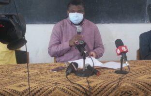 Health Minister Dr. Ahmad Lamin Samateh