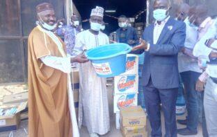 NAWEC Gives Sanitary Items worth D7 Million Dalasi to MoBSE, AMANA
