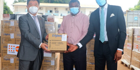 MoH receives D31M worth medical equipment from China
